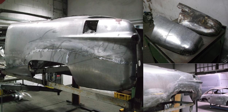 Seitenteil für Ford Shoebox unterhalb neu angefertigt