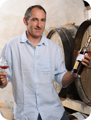 Jean-Marie Terraube of Domaine de Magnaut, producer of quality Côtes de Gascogne wines.