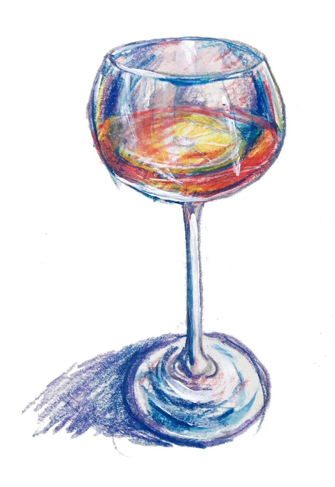 Vin d'Orange: white wine, oranges, and Marie Duffau Armagnac cocktail for summer
