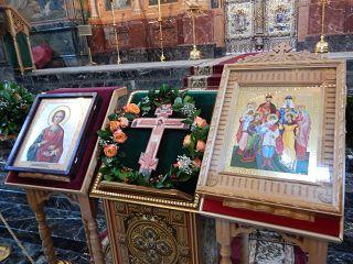 in der Blutkirche Altar