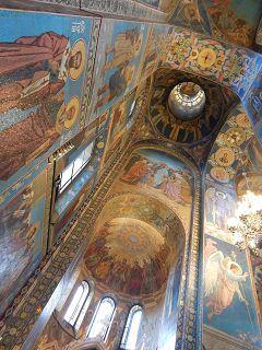 Auferstehungskirche Ansicht der Decke