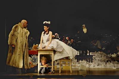 """J.A. Hasse """"Pyramus und Thisbe"""" Partie: Thisbe Festival Schloss Britz Spielzeit 2011/ 2012"""