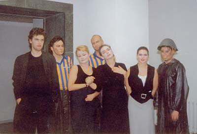 """W.A. Mozart """"Cosi fan tutte"""" Rolle: Despina Szenenabend der HfM """"Hanns Eisler"""" Berlin 1997"""