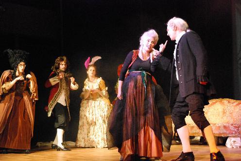 """J.-J. Rousseau """"Der Dorfwahrsager"""" Partie: Colette Festival Schloss Britz Spielzeit 2012/ 2013"""