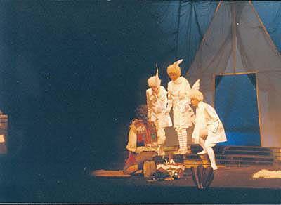 """Zweiter Knabe  W.A. Mozart """"Die Zauberflöte"""" Rolle: Zweiter Knabe Kleist-Theater Frankfurt (Oder) Spielzeit: 1991-1993"""
