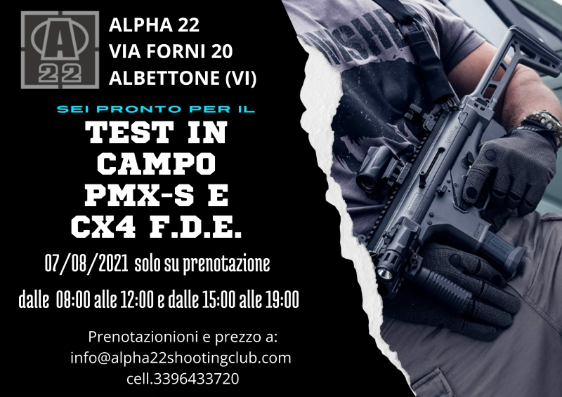Test in Alpha 22