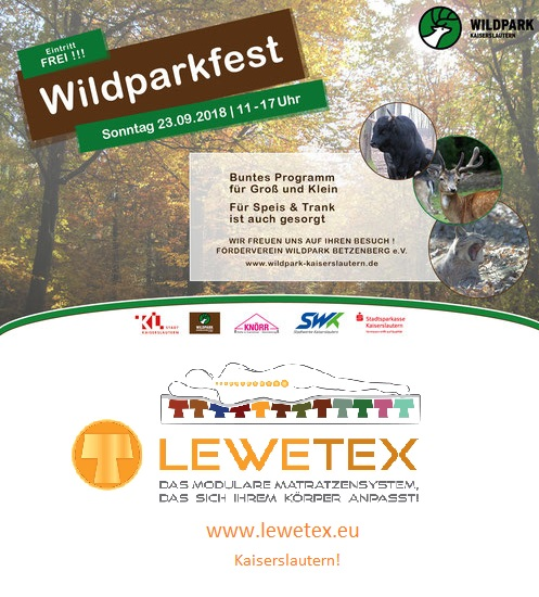 Wildparkfest Kaiserslautern 23.09.2018 11-17 Uhr