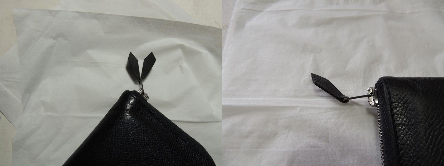 財布フラップ修理