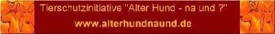 """Tierschutzinitiative """"Alter Hund - na und?"""""""