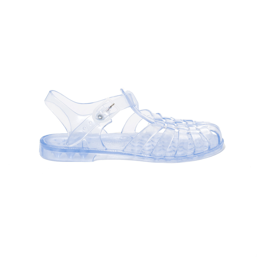 JELLY SHOES Mens Clear - Vintage style plastic shoppers 8ecd73432