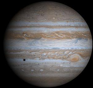 Jupiter fotographiert von der Raumsonde Cassini