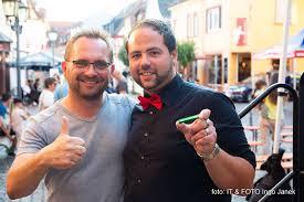 v.l.n.r.: Matthias Kraus, Leiter des StadtMarketingvereins und Andrea Faggiano, Vereinsvorsitzender