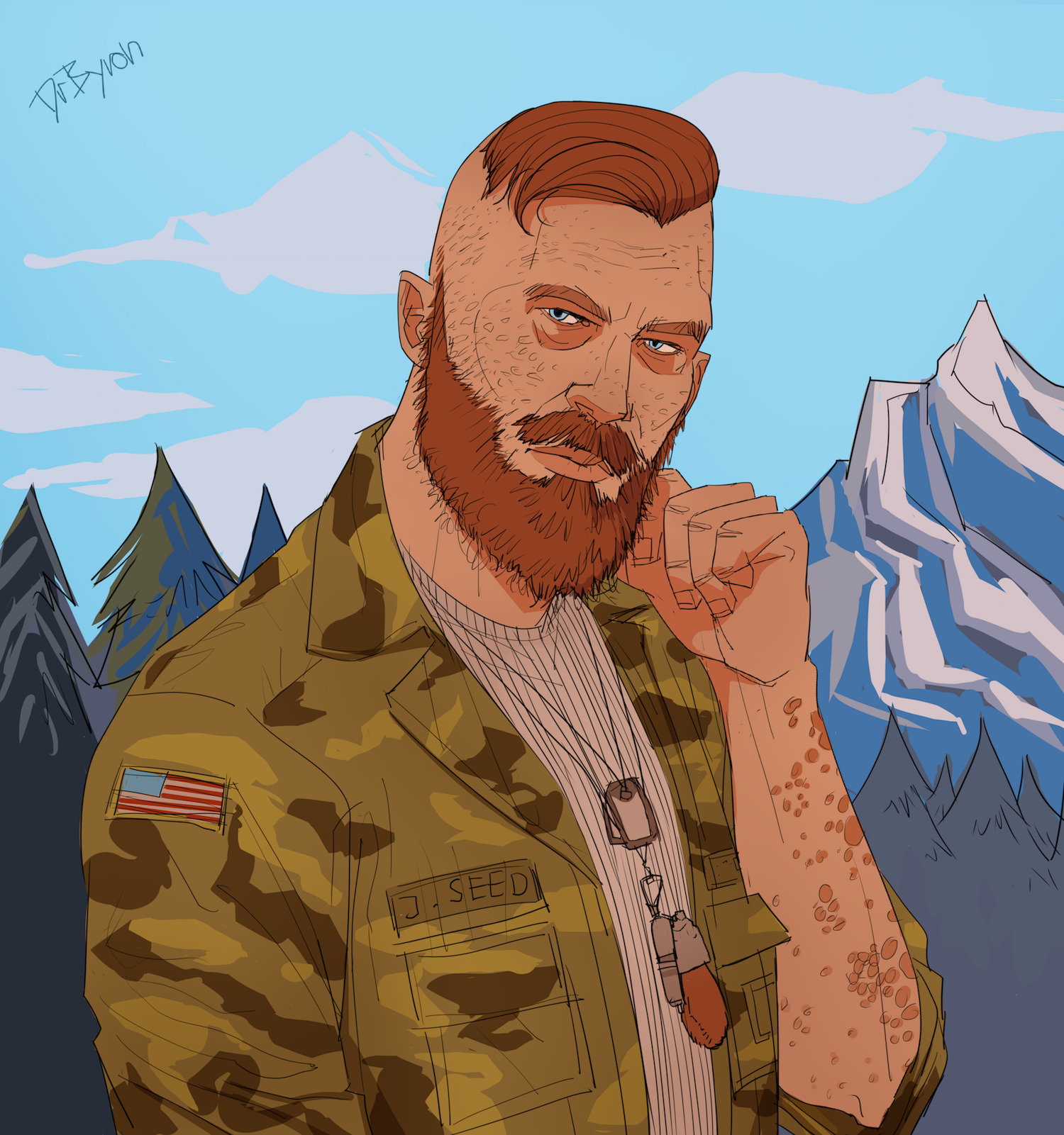 "Fanart of the game ""Far Cry 5"""