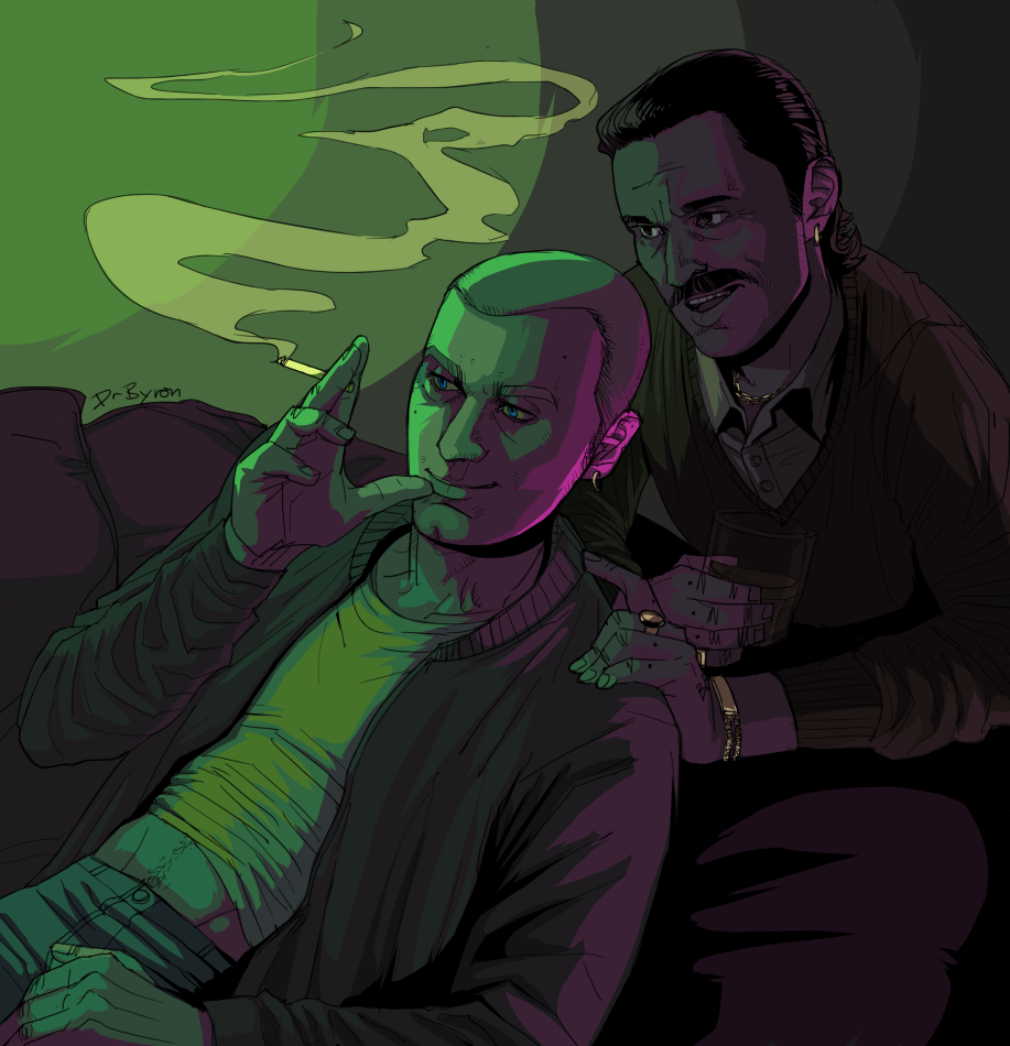 "Fanart of the film ""Trainspotting"""