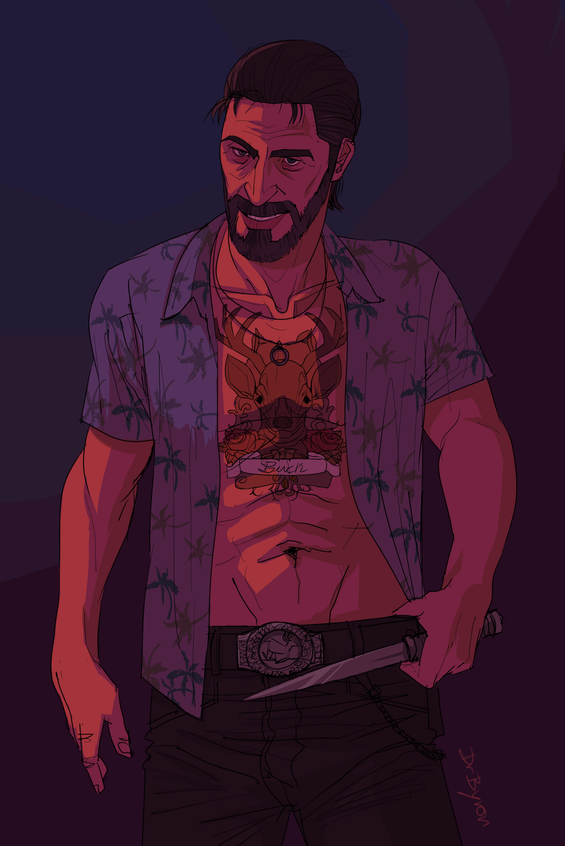 "Fanart of the game ""Far Cry 3"""