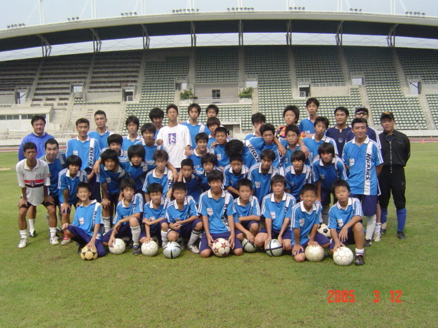 2005.3.12  Day Campの写真(タマサート大学)