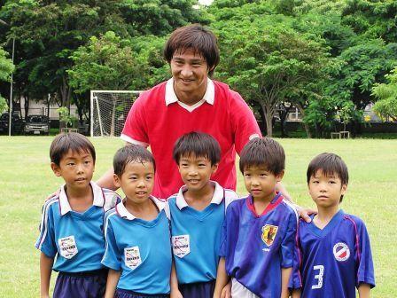 2006.8   元ガンバ大阪で3年間主将をつとめた木場選手