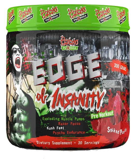 Edge of Insanity - Massive Energy and Focus!  One of my favorites!