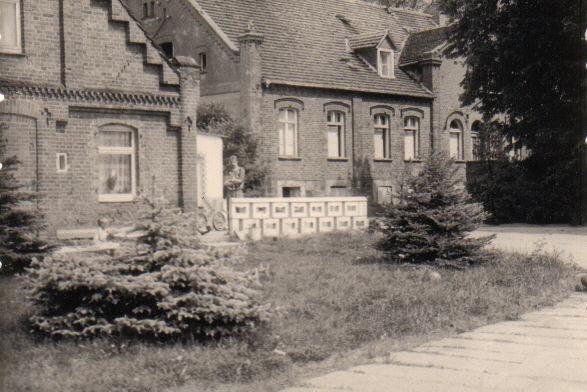 So sah das um 1870 errichtete Gutshaus in Monckeshof aus.