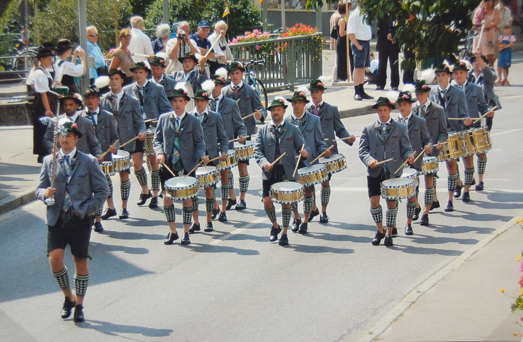 Musikfest in Schwabsoin 2006