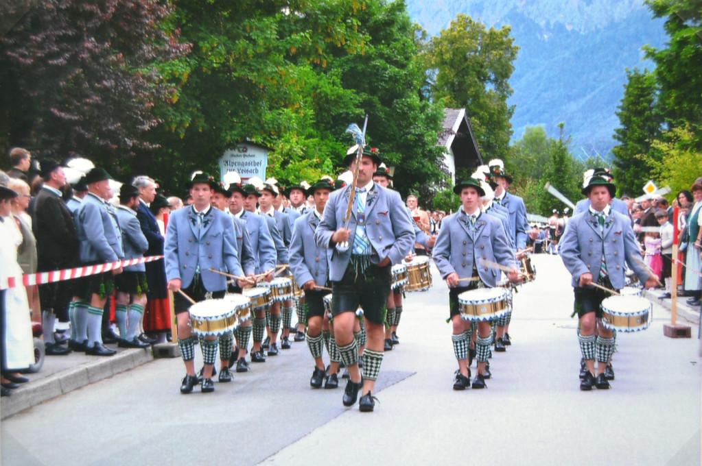Musikfest in Großweil 2009