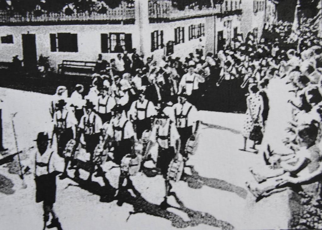 Gaufest 1962 in Ohlstadt