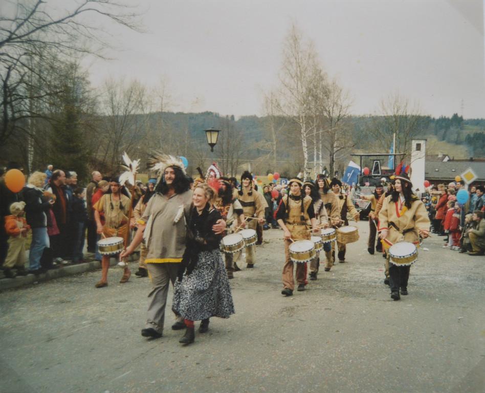 Faschingszug 2004 in Großweil
