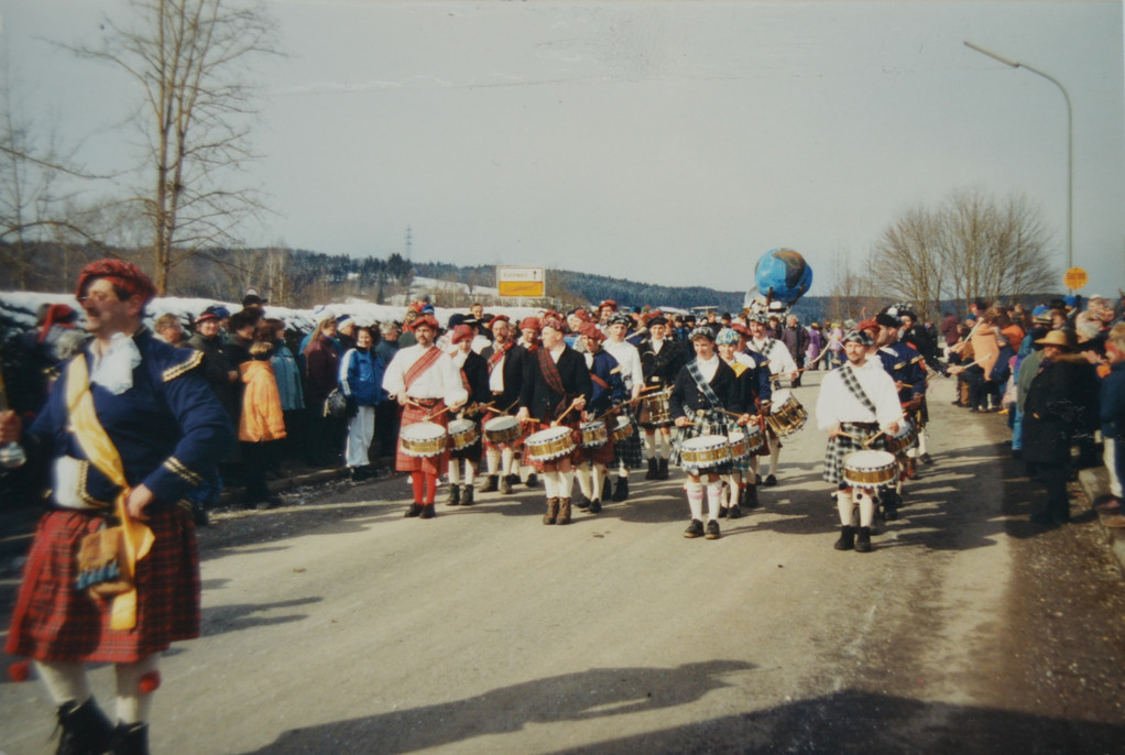 05.03.2000 - Faschingszug in Großweil