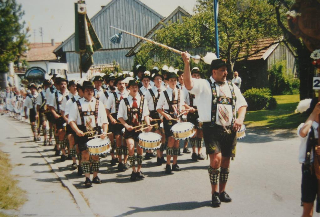 Marschmusikwettbewerb in Bayersoien