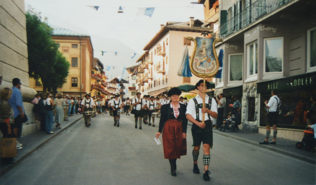 Musikfest in Cortina d. Ampezzo - 2001