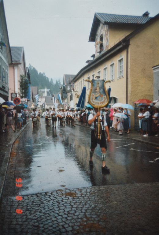 Marschmusikwettbewerb - Schongau 1993
