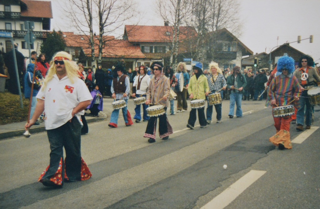 Faschingszug in Saulgrub - 2002