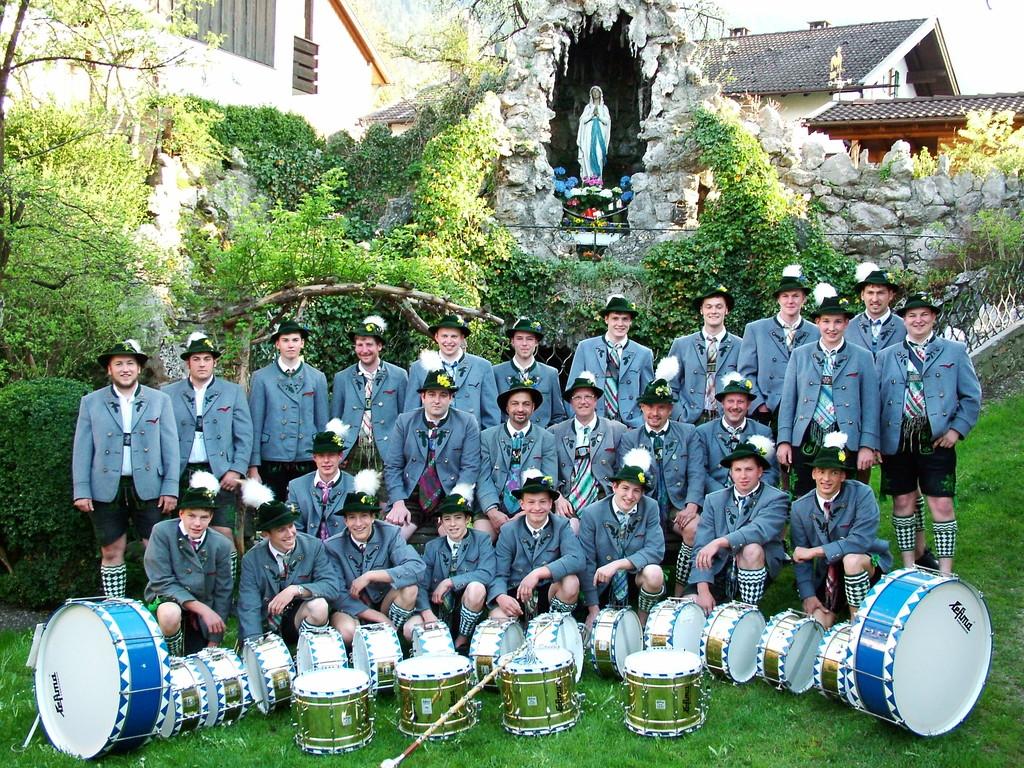 Gruppenfoto am 1. Mai 2005