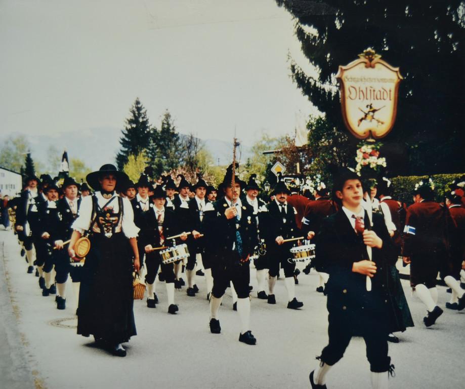 Patronatstag 1997 in Ohlstadt