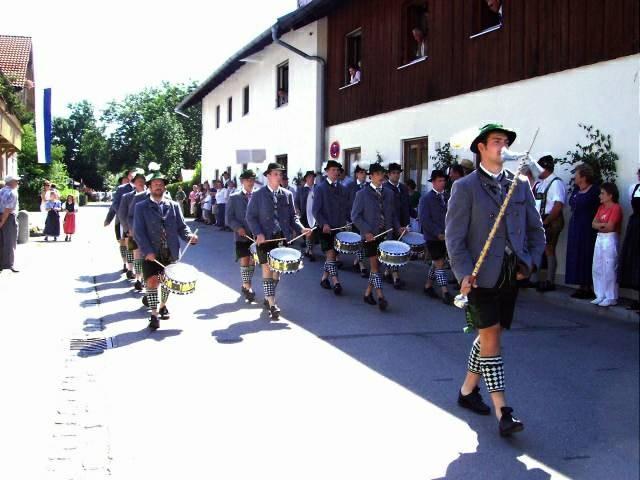 Musikfest in Altenstadt 2004 unter der Leitung von Franz Gaisreiter