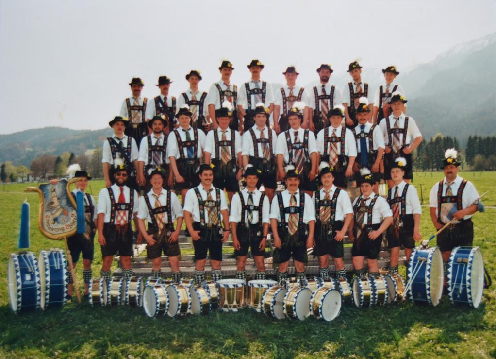 Festausschuß - 8. Bezirksmusikfest 1993 in Ohlstadt