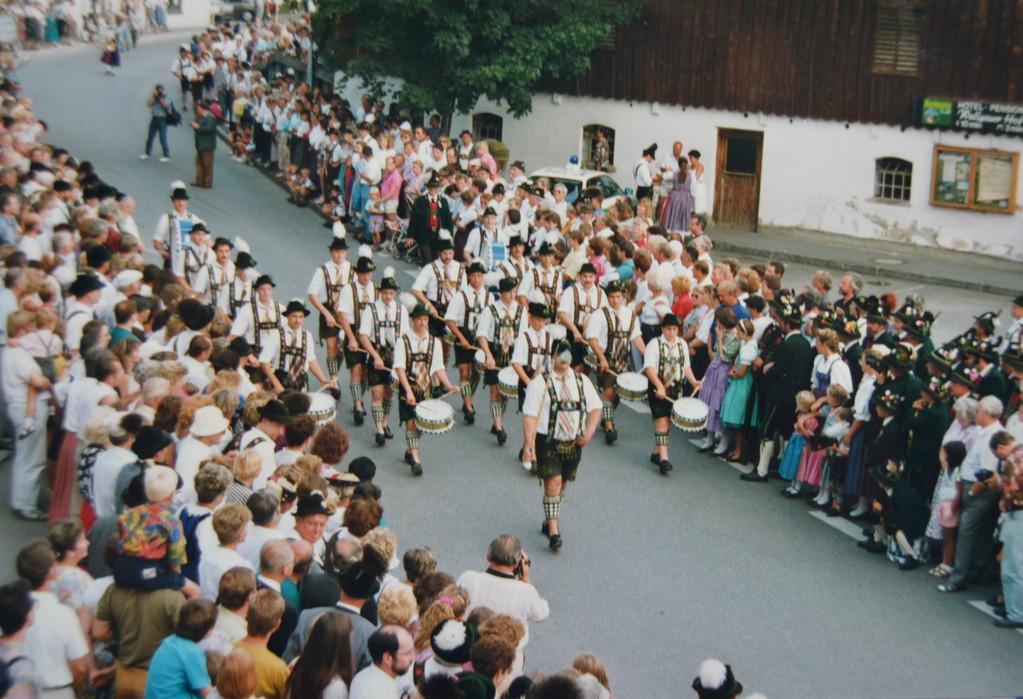 Musikfest in Wallgau (15.08.1991)
