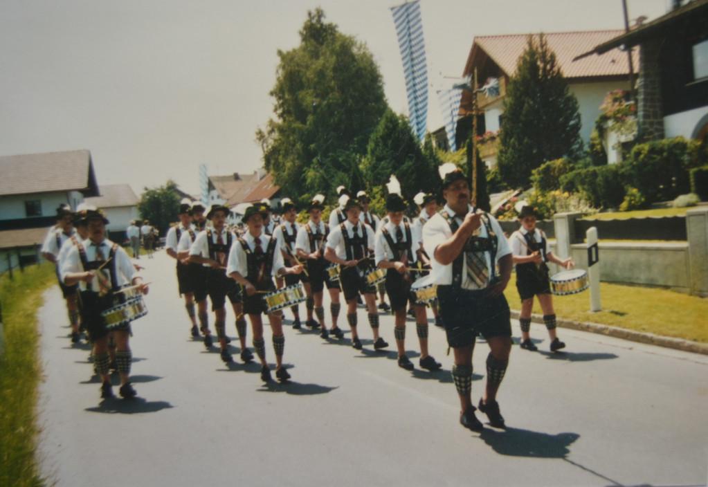 Marschmusikwettbewerb in Eglfing