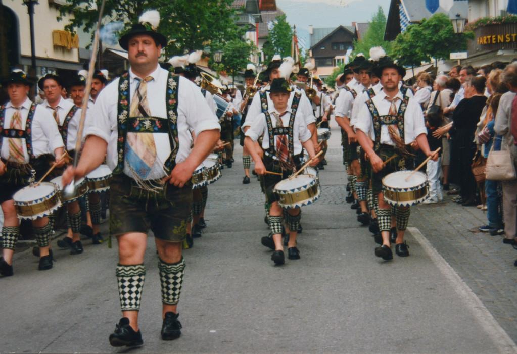 19.05.1996 - Bezirksmusikfest in Garmisch