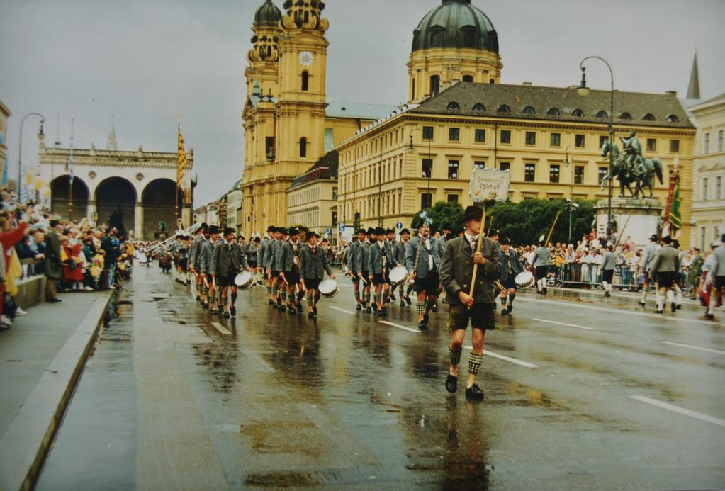 Oktoberfestumzug 1990