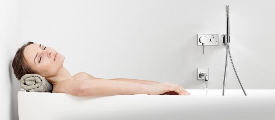 TRES Kit termostatico vasca