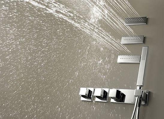 TRES Kit termostatico doccia con idrogetti