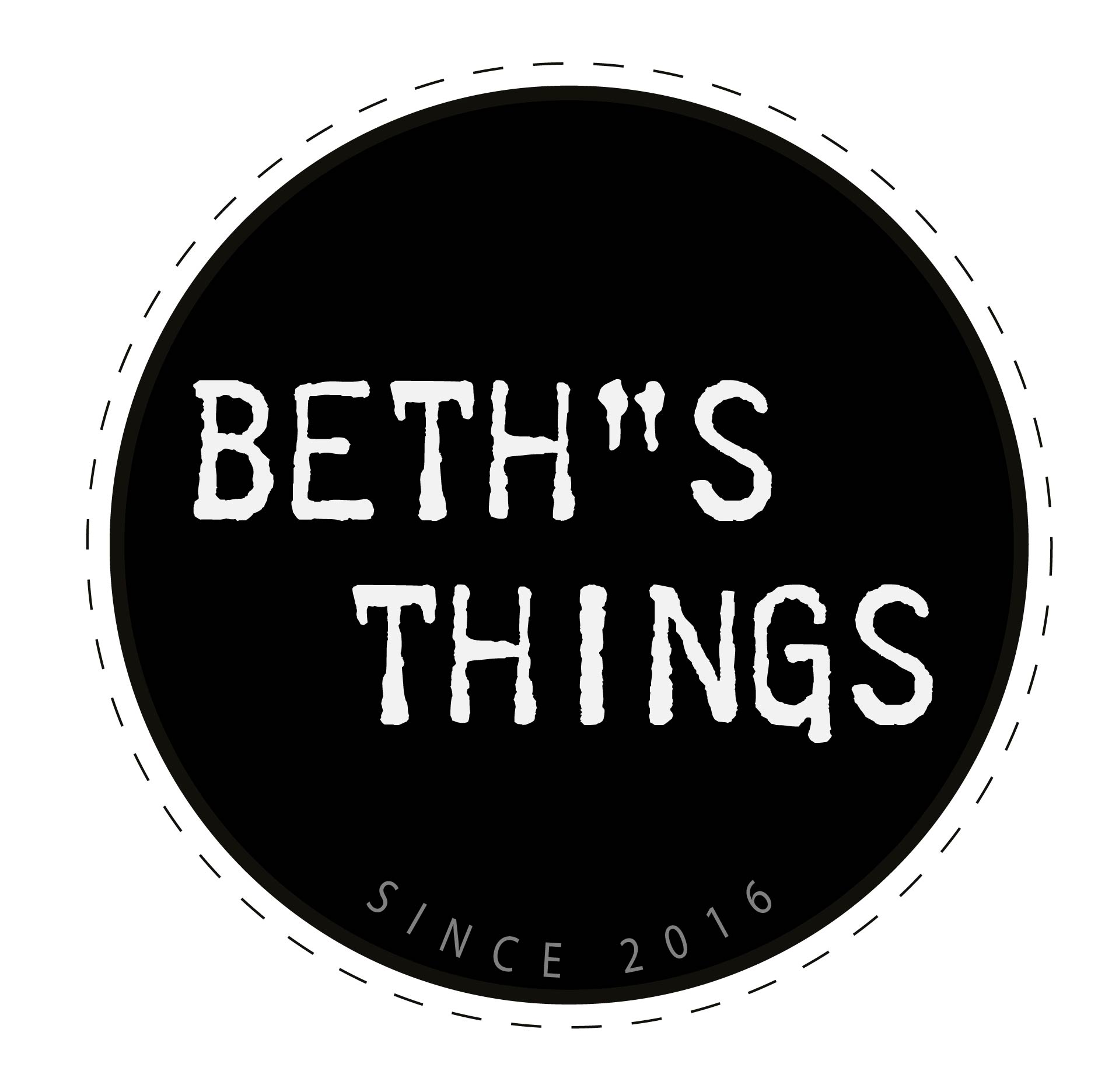 "Logo ""Beth""s things"""