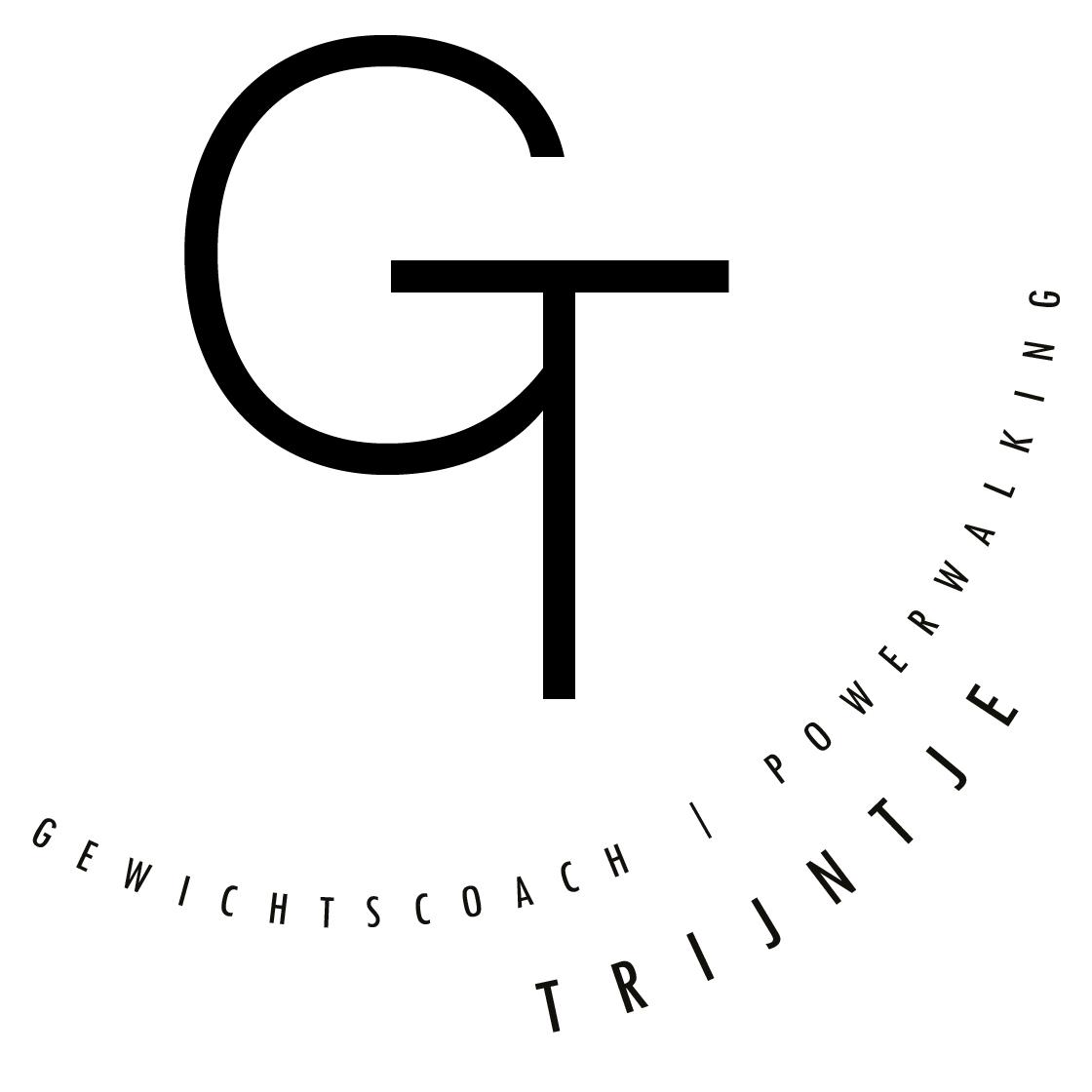"Logo ""gewichtscoach Trijntje"""