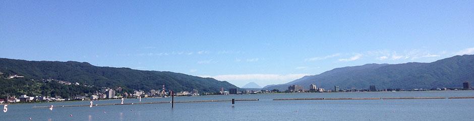 10月1日は「諏訪湖の日」です