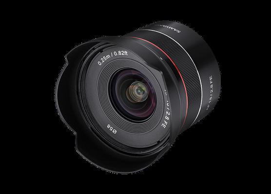 Samyang AF 18mm F2.8 FE (Quelle Samyang)