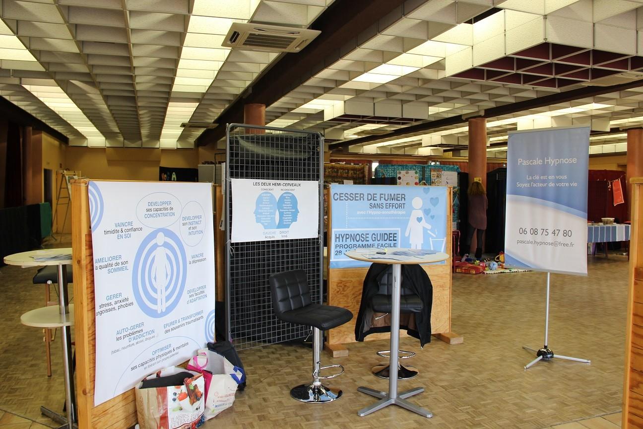 Le stand PASCALE HYPNOSE s'agrandit, nouvelles affiches .... nouveau design ....
