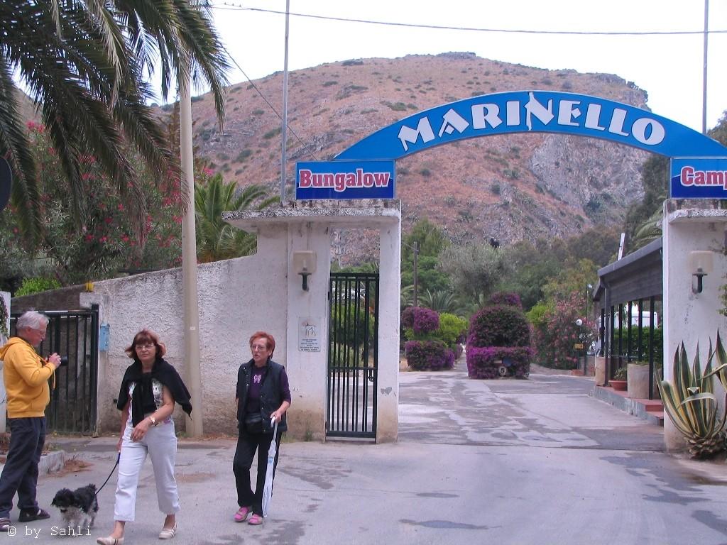"Eingang CP ""Marinello"" bei Oliveira"