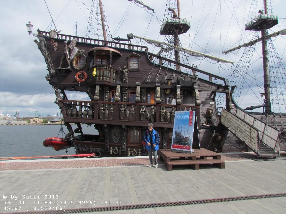 Nachbau eines Historischen Segelschiffes