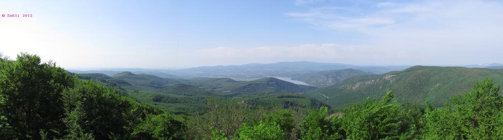 Blick aufs Donauknie